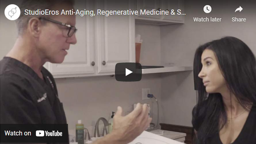 Watch StudioEros patient testimonials and other videos to learn more about the revolutionary female anti-aging, regenerative sexual wellness medical services.